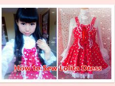 How to Sew Lolita Dress-Step by Step (with 1.5 yards fabric, no zipper method) Designs By Yumi