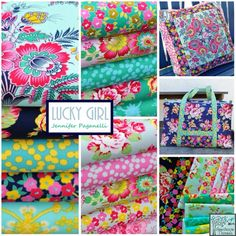 Lucky Girl Fabric