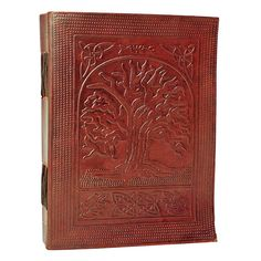 Medium Tree of Life Leather Journal