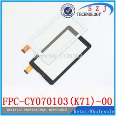[Visit to Buy] New 7'' inch Tablet PC Capacitive Touch Screen Digitizer Glass Sensor Replacement FPC-CY070103(K71)-00 KDX Free Shipping #Advertisement