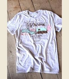 Not All Who Wander tee {junk gypsy co}