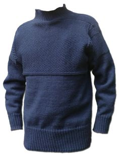 Traditional Scarborough Gansey Knitted in pure new wool. Each Gansey is knit the traditional way and takes over 100 hours of knitting. Travis Scott Outfits, Cool Hoodies, White V Necks, Pulls, Knitwear, Men Sweater, Jeans, Dark Navy, Sweater Patterns