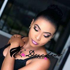 Smokey eyes x Ombre lips =   @duchessmakeover #makeup #mua #glamlook #smokeyeyes #ombrelips