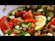 Salatrezept Tomaten-Gurken-Salat mit Minze - einfachKochen Rezept Tipp - YouTube