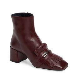 Topshop 'Maximum Fringe' Loafer Boot