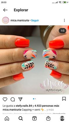 Happy Nails, Minimalist Nails, Nail Designs Spring, Hot Nails, Cute Acrylic Nails, Beautiful Nail Art, Perfect Nails, Nail Artist, Nails Inspiration
