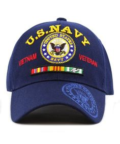 8eea17653aea6 US Navy Vietnam Veteran Licensed Military Ball Cap (One Size Fits All- US  Navy (Blue)) CX12JOAG3XZ