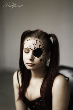 china doll masks | ... cracked doll masks like this Broken Doll ...