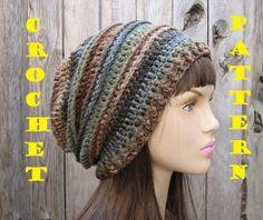 CROCHET PATTERN!!! Crochet Hat - Slouchy Hat Crochet