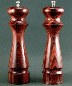 I like this shape for my pepper mill I'm turning...