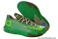 22cda8744e21 Discounts Nike KD 6 599424 065 Womens Bamboo Court Green Olive Volt Nike  Lebron