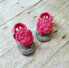 Crochet Baby Sandals Handamde   #crochetbabysandals #crochetbabyshoes #babyshoes #babysandals #handmade