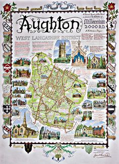 the Aughton Millenium map