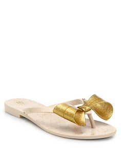 0461c3ae3dcec4 Melissa - Harmonic Glitter Bow Flip Flops