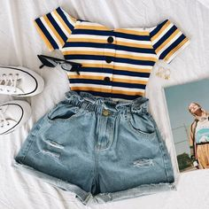 cute outfits for school . cute outfits with leggings . cute outfits for women . cute outfits for school for highschool . cute outfits for spring . cute outfits for winter Dressy Summer Outfits, Teen Fashion Outfits, Cute Casual Outfits, Retro Outfits, Stylish Outfits, Fashion Ideas, Fashion Styles, Casual Jeans, Fashion Dresses