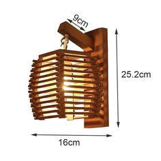 Compliment your decor with a stunning wooden lantern wall mounted lamp! Made from carved wood. Power Source: AC Voltage: 90 - LED light bulbs not included. Free Worldwide Shipping & Money-Back Guarantee Wooden Lanterns, Wooden Lamp, Wooden Diy, Wall Mounted Lamps, Lantern Lamp, Ornaments Design, Lamp Design, Bulb, Lights