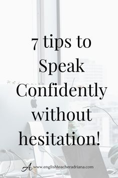 Speak English more confidently by using these 7 tips to improve your confidence speaking in English. Click the link below to watch the video lesson English Speaking Skills, English Learning Spoken, Learn English Grammar, English Writing Skills, English Vocabulary Words, English Language Learning, English Phrases, Learn English Words, English Study