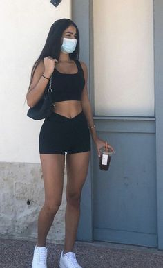 Lazy Outfits, Teenager Outfits, Cute Casual Outfits, Spring Outfits, Girl Outfits, Fashion Outfits, Womens Fashion, 00s Mode, Fitness Inspiration Body