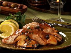 "How about warming yourself up with my ""Tasty Tuesday"" photo of Veal Marsala with Mushrooms....It was yummy!"