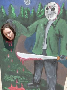 Friday the 13th picture board @carrieoline I need this!