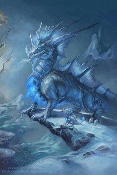 Dragon Art by Sixthleafclover http://www.ebay.com/usr/americanflag911