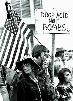 rosemary leary - anti-war protest in 1969