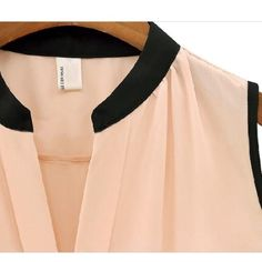 HP Sheer Blouse Chiffon/Polyester Blend Chiffon Sleeveless Blouse                                                                 Colors: Pink                                                                   Sizes: M & a size L                                                               Comment below with color and size. NOT Zara brand, just tagged for views Zara Tops Blouses
