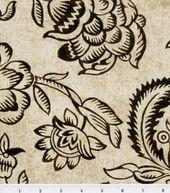 45'' Home Essentials Print Fabric-Bircham/Onyx #18