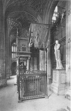 Mary Queen of Scots Tomb - Westminster Abbey