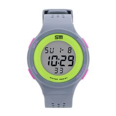 Unisex Sports Watches Military Watch Women Casual LED Digital Multifunctional Wristwatches 30M Waterproof