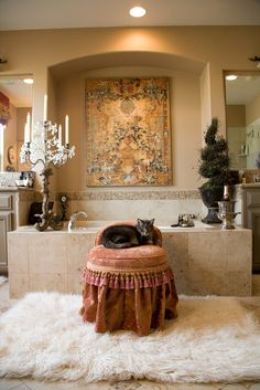 Castle Comforts Interior Designer Livermore and East Bay - Interior Designer serving Blackhawk creates luxurious master bathroom