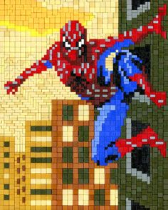 Applehead: Ministeck Spiderman