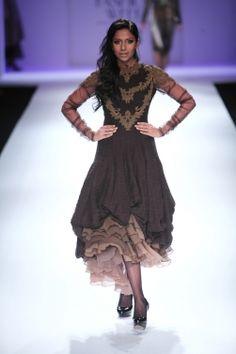 Dozakh by Kartikeya & Isha - Wills India Fashion Week Autumn/Winter 2012 Show & Collection Review | Vogue INDIA