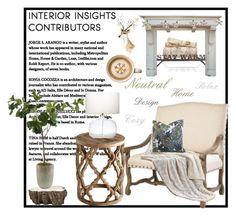 """Home"" by doragutierrez on Polyvore featuring interior, interiors, interior design, home, home decor, interior decorating, Frontgate, Mark & Graham and Parlane"