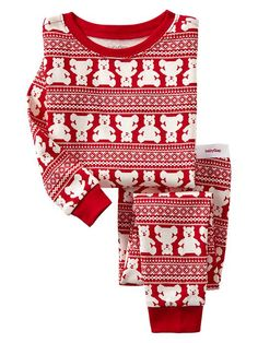 Cute pjs for a little boy for the holidays