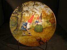 Rien Poortvliet Kabouters Plate Verjaardag Aanplant Legends of the Gnomes                                 lb xxx.