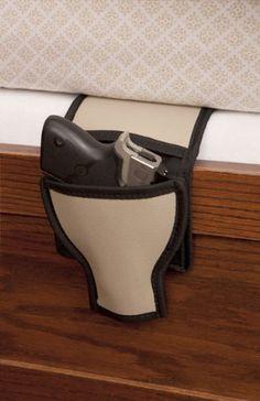 Amazon.com: Bed Gun Holster/Couch Gun Holster/Car Seat Gun Holster: Sports & Outdoors