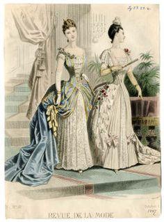 Women 1886-1887, Plate 026 :: Costume Institute Fashion Plates
