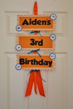 Disney Planes Birthday Door Sign by LoveNestBoutique on Etsy