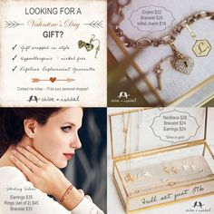 Valentine's Day is coming check my boutique for gift ideas! www.chloeandisabel.com/boutique/donnacrichton