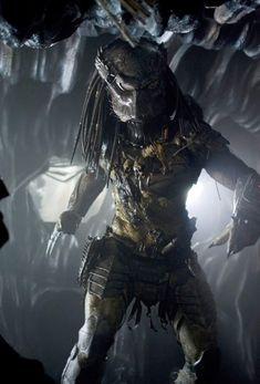 Predator Alien Life Size figure buste statue Collectible coulé Solide Hauteur 43 cm