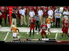 Tennessee vs NC State    VOLS roll over Wolf Pack  35 - 21
