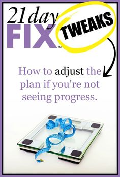 21 Day Fix Tweaks http://sublimereflection.com