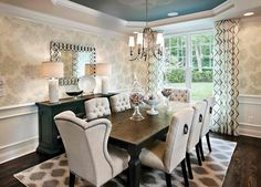 20 Astonishing Dining Room Wall Decors | Home Design Lover