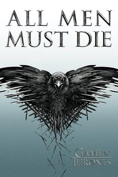 Game of Thrones - All Men Must Die - Official Poster