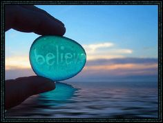 Geloof in jezelf!