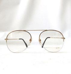 6d973c1e1725 vintage 1970 s NOS mens aviator eyeglasses by RecycleBuyVintage Retro Eye  Glasses
