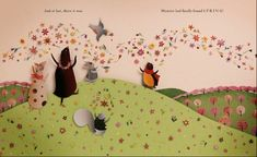 Great children's books for spring: Finding Spring by Carin Berger has beautiful cut-paper illustrations.