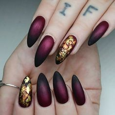 Fashionable Maroon Nails Designs to Complete Your Image ★ See more: https://naildesignsjournal.com/maroon-nails-designs/ #nails