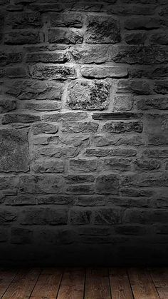 Wood Floor Brick Wall Background H5